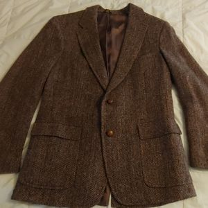 Harris Tweed Herringbone Sport Coat